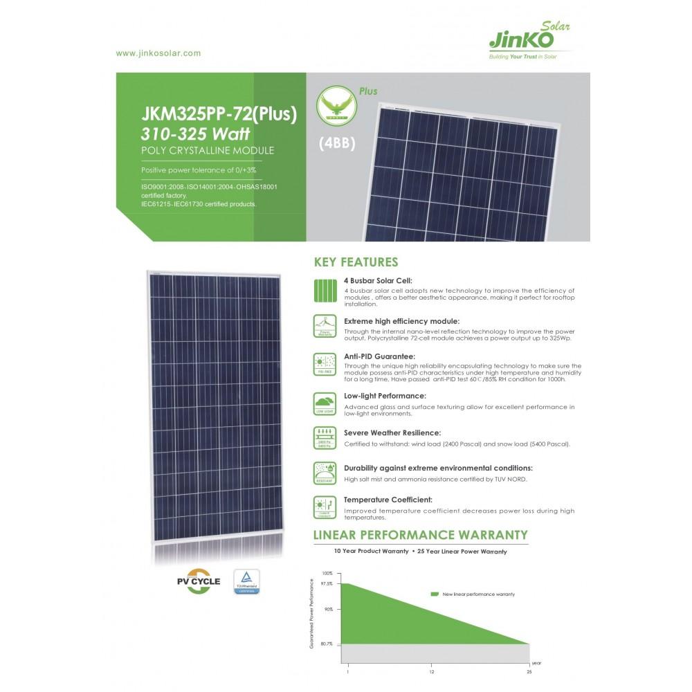 Jinko Solar 325W Polycrystalline Modules